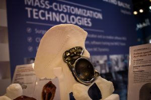 Ortho Baltic Implants booth