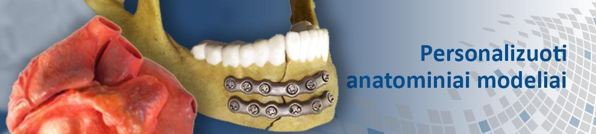 Personalizuoti 3D anatominiai modeliai